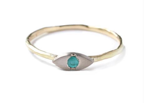 Eye Paraiba  Ring