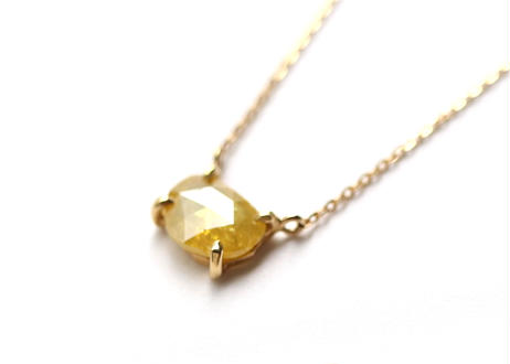 Natural Diamond  Necklace