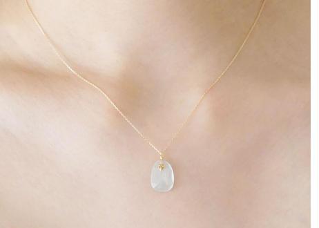Sunstone Necklace Top