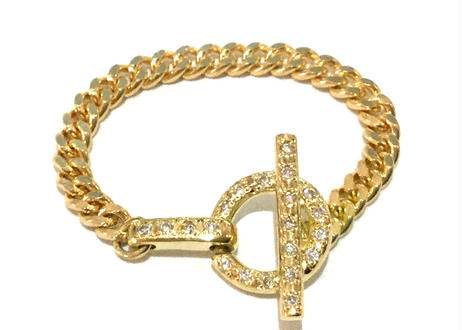 Mantel Full Diamond Chain Ring