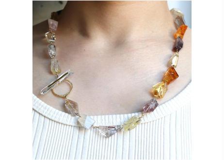 Mix Stone Tsurara Necklace