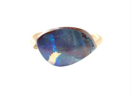 Bolder Opal Slit Ring
