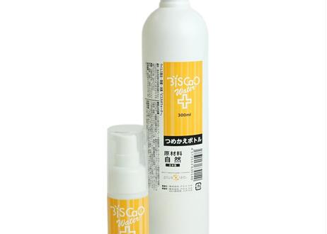 BiSCaO Water(ビスカオウォーター) 除菌 消臭 日本製 携帯用 ドロップボトル 30ml + 詰め替え用 ボトル 300ml セット 革新的除菌力と安全性