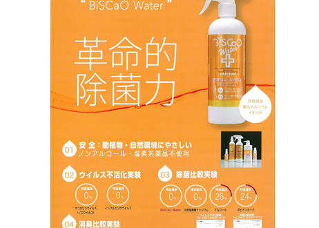 BiSCaO Water(ビスカオウォーター) 除菌 消臭 日本製 詰め替え用 袋タイプ 2000ml 革新的除菌力と安全性