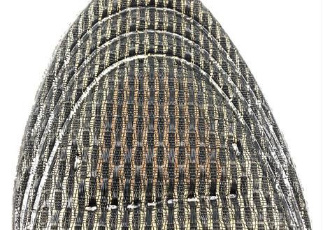 【シーアンドケイ】 リフレソールDX 磁気治療器 インソール 極厚 メンズサイズ 24.5〜28.0 cm 銅板で抗菌・消臭 & 磁気で血行促進 & メッシュ加工で通気性抜群 5層 ブラック