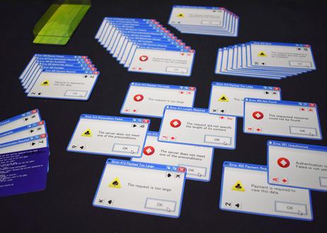 エラートランプ -  Error Playing Cards