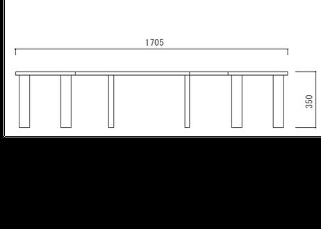 サークルベンチ Mサイズ