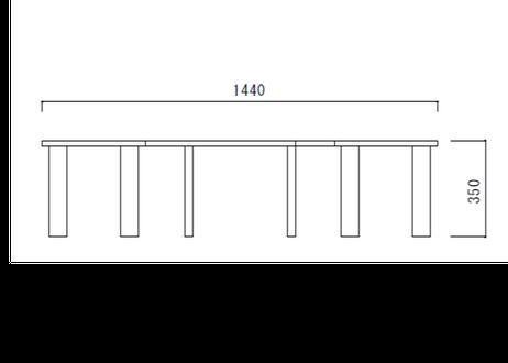 サークルベンチ Sサイズ