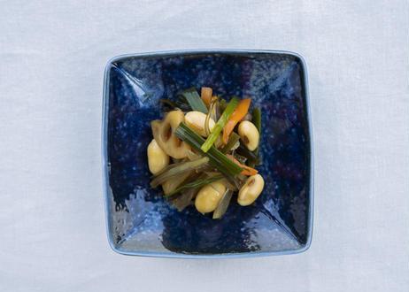 みのぶ漬け 3パックセット(幻のあけぼの大豆と季節の野菜を特別製法にて漬け込みました。)