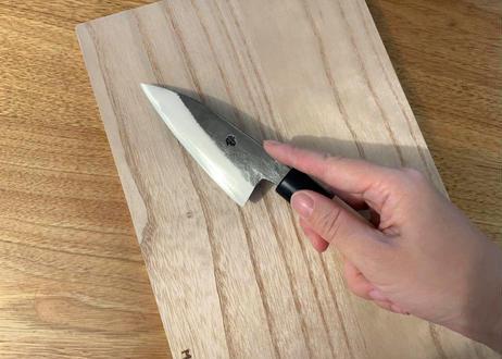暮らしの道具 3点セット(和包丁、桐まな板、天然コットン100%エプロン)