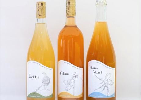 GIFT用【食べるBOX】ワイン 3種3本セット