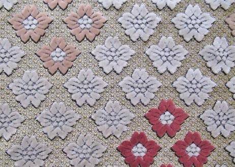 高級モロッコインテリア生地「桜」90×147cm一点限り