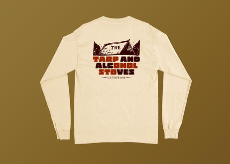TARP AND ALCOHOL STOVES long sleeve T