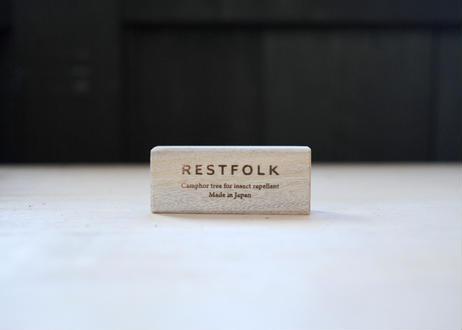 カンフルブロック 10pcs くすのき 防虫ブロック RESTFOLK