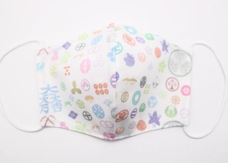 家紋布マスク 関ケ原・ネット限定