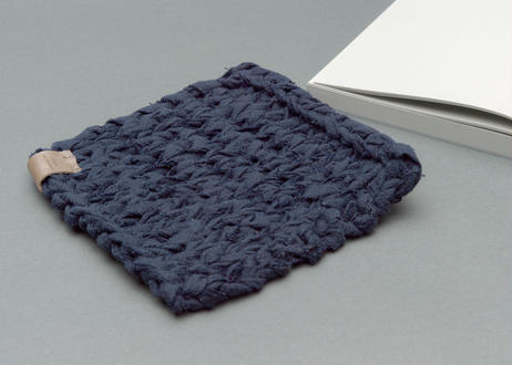 LINEN DISH CLOTH -ネイビー