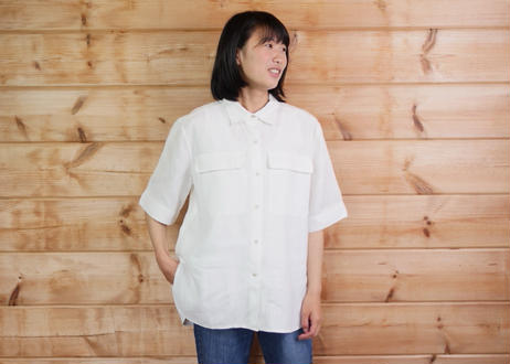 エシカルヘンプオーバーサイズシャツ
