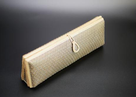 プラニー工房作 竹細工クラッチバッグ ピグンシリーズ