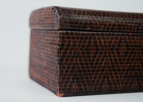 ヤーンリパオ組菱紋小茶籠