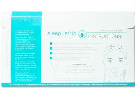 SleepYstrip(スリーピーストリップ) 1パック(30枚入り)