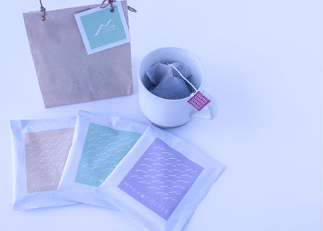 COFFEE BAG MINI GIFT SET お湯に浸けるだけ《コーヒーBAG》1袋ずつ3種類のミニギフトセット