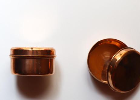 銅製容器|南インド・ケララ州