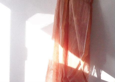 手紡ぎ手織り!オーガニックコットン・カディ布:Sサイズ|南インド