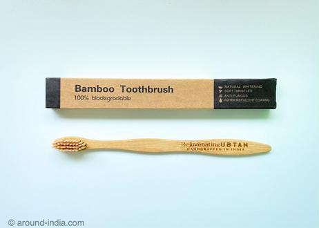 竹の歯ブラシ「UBTAN」|北インド
