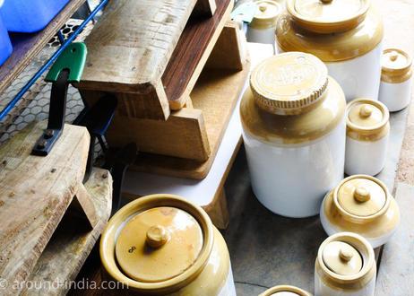 陶製ポット|南インド・ケララ州