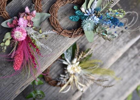 【発送商品】dryflower wreath (リース)