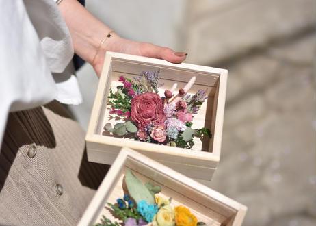 【発送商品】dry flower BOX(S) (ボックスアレンジメント)