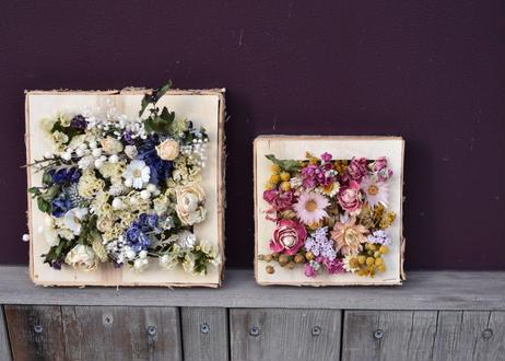 【発送商品】Flower square frame(L)(フラワーフレーム)