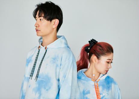 YUKI INOUE シューレースプレート(オレンジ)✖️GETABACO  靴紐(チャコールグレー) セット売り