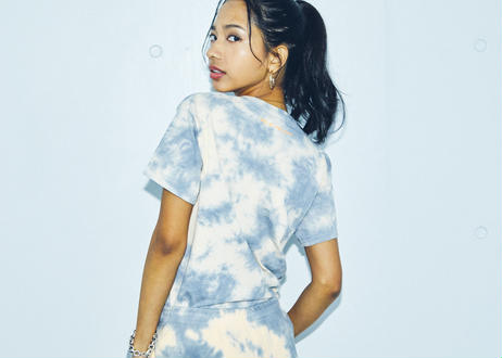 NEO81PROJECT/Tradition/限定タイダイ染めネオTシャツ/スリムフィット(girlfriend size)