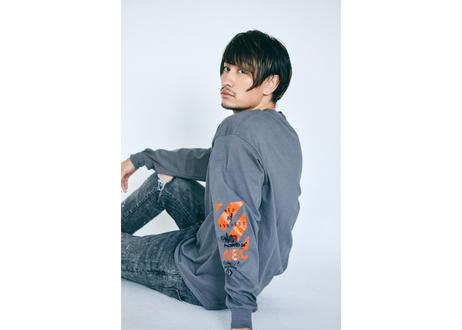 NEO81PROJECT    / weather    長袖Tシャツ/charcoalgray/【フォトブック付き】