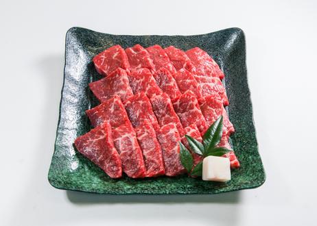 高原黒牛モモ焼肉  300g