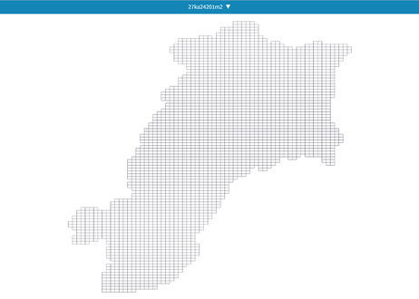 三重県津市:PowerBI向けH27年度国政調査(町丁・字)TopoJSON
