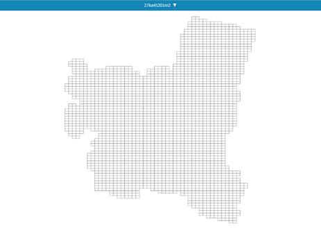 宮崎県宮崎市:PowerBI向けH27年度国政調査(町丁・字)TopoJSON