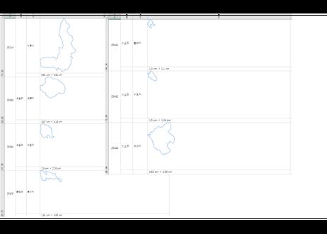 滋賀県:H31年行政区域地図のオートシェープ図形