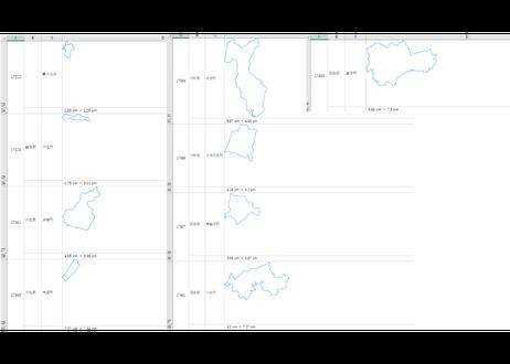 石川県:H31年行政区域地図のオートシェープ図形
