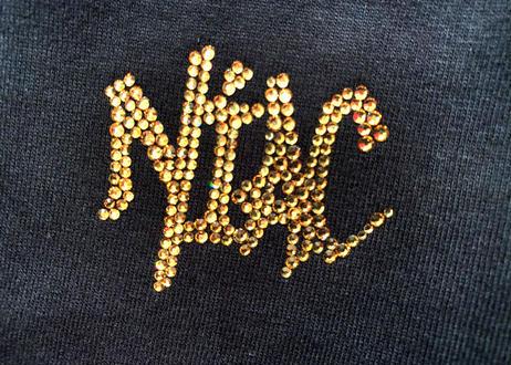 NIAC  Original  ラインストーンT(luxury)
