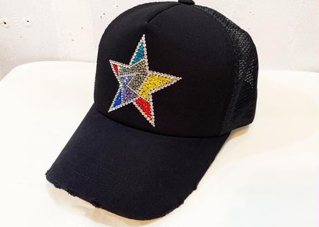 NIAC originalダメージメッシュCAP (color star)