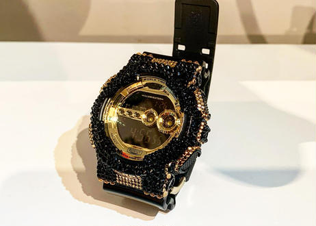 Custom G-shock(GD-100GB-1 )