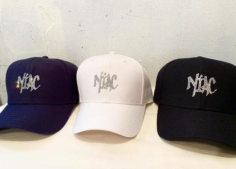 NIAC original rhinestonecap white