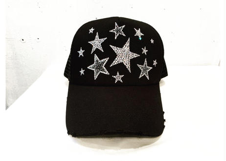 OriginalダメージluxuryメッシュCAP star