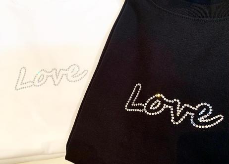 Niac OriginalラインストーンT (love)