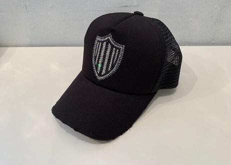 OriginalダメージluxuryメッシュCAP black emblem