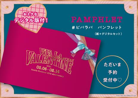 予約受付中【紙版+デジタル版】『VIVA LA VALENTINE』( #ビバラバ ) 公式パンフレット