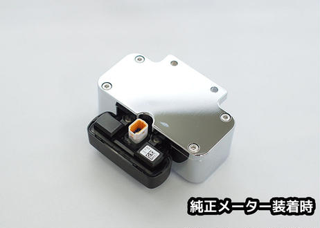 M8用メーターケース(メッキ)MK-06