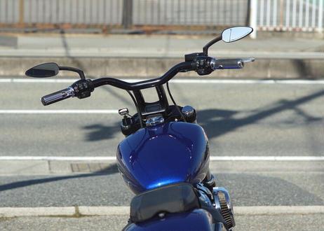 M8用メーターケース(ブラック)MK-03